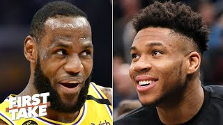 First Take debates LeBron vs. Giannis for NBA MVP