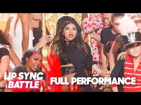 "Pentatonix's Kirstin Maldonado Owns Taylor Swift's ""Look What You Made Me Do"" | Lip Sync Battle"
