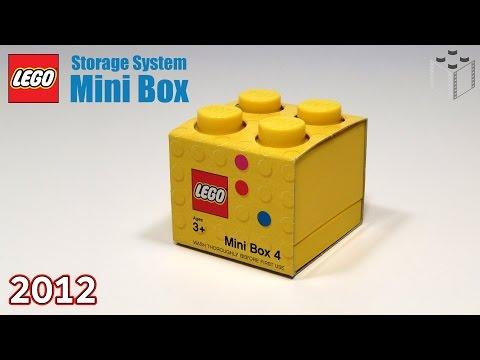Lego Storage System Mini Box 4