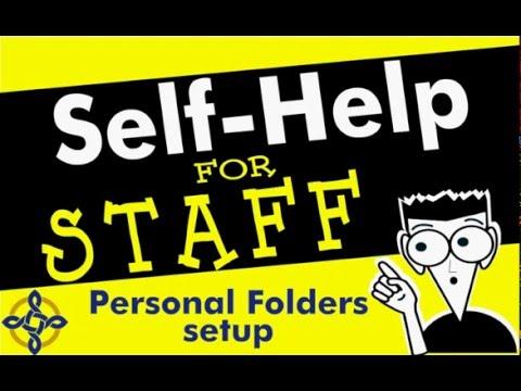 Setup Email Personal Folders