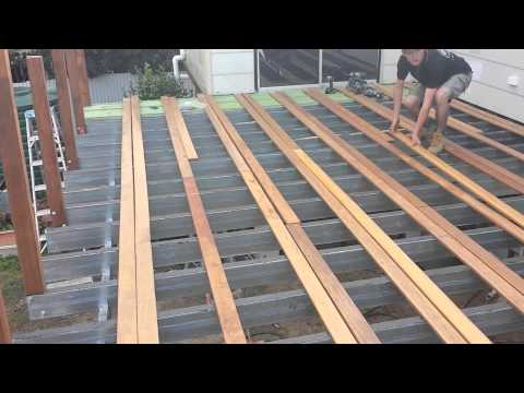 How to build an Amazing Deck & Roof - by Adaptit