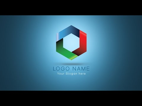 How to create professional logo design | photoshop tutorials vector logos