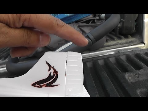 How to Cut Foam Using Ford F150 Truck Rolling Bed Cover