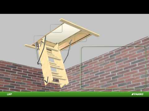 LWP (LWS-P) Fakro Attic Ladder- Instructional Video