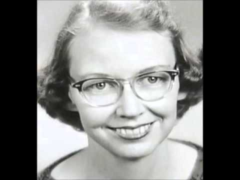 Flannery O' Connor reading ''A Good Man is Hard to Find'' part 2/3