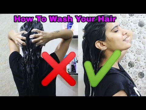 (हिंदी)How to : Wash Your Hair Correctly and Stop Hair Fall | Super Style Tips