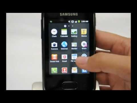 Samsung Galaxy Pocket: Turn off / on data services