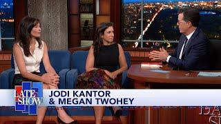 Jodi Kantor & Megan Twohey Detail Harvey Weinstein's Efforts To Derail Their Reporting