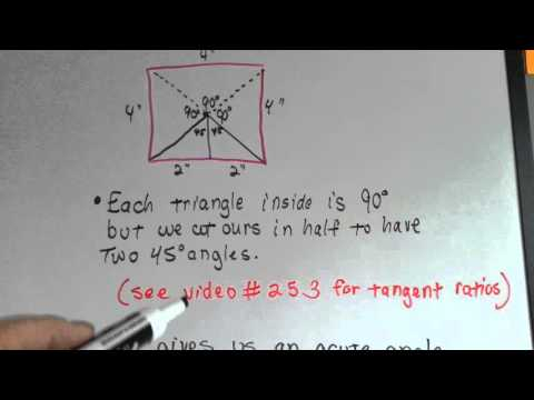How to Find an Apothem Measure (Geometry #268)
