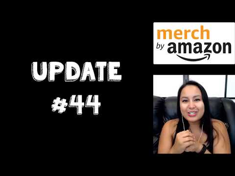 Merch by Amazon [Update 45]: Stagnant Progress Means Taking New Action
