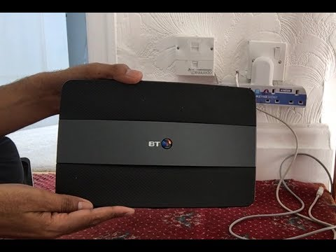 How to set up BT Smart Hub Router