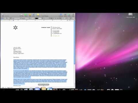 Apple Mac Quick Tips Easy Mail Merging