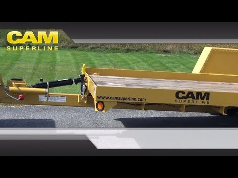 6x12 Single Axle Tilt Trailer by CAM Superline