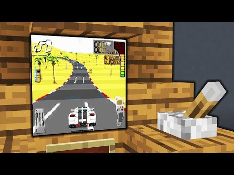 Minecraft - How To Make A Working Car Game | Arcade | Tutorial