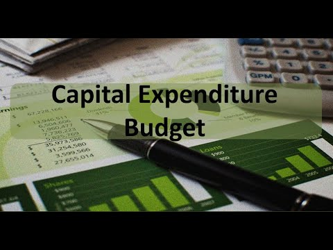 Managerial Accounting: Capital Expenditure Budget