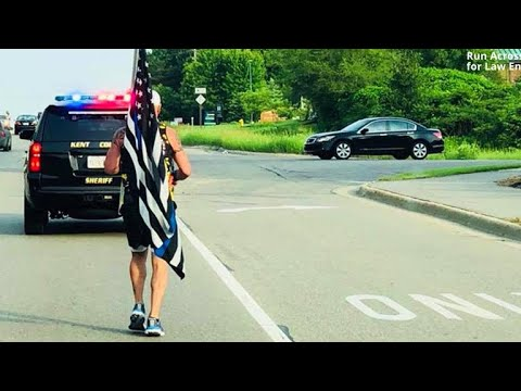 Why this man ran 160 miles across entire state of Michigan