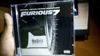 Furious 7 (Original Motion Picture Soundtrack) Unboxing