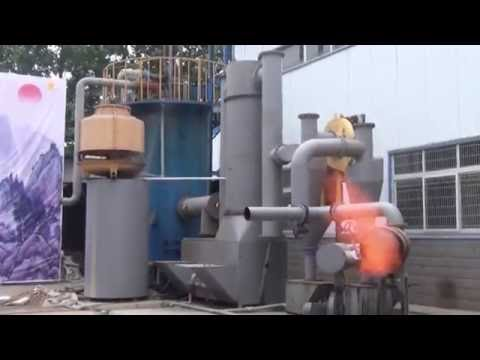 Coconut shell, Coconut husk, Coconut waste gasification to produce biogas, charcoal, fixed carbon