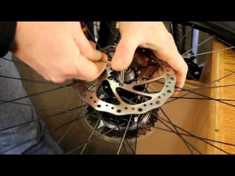 How To Use Torx Tool - Disk Brake Removal Bicycle Repair - BikemanforU