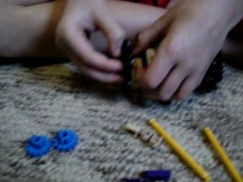 How to make a knex tractor