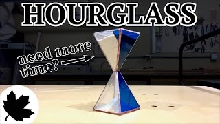 How To Make A Stained Glass Hourglass