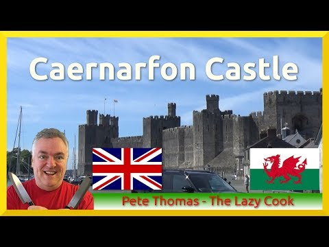 Castles of North Wales - Caernarfon Castle