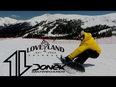 Snowboarding Loveland with Andrei and Everett
