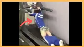 Treadmill Fails Try Not To Laugh (EXTREM)