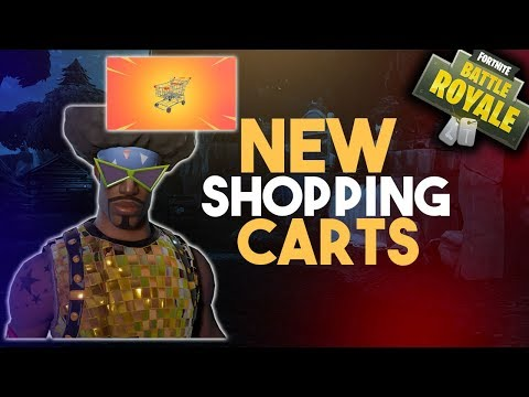 NEW SHOPPING CARTS// New Patch 4.3.0 v1.61 // 6,000+ Kills 💀 // 400+ Wins🏅// Fortnite Battle Royal