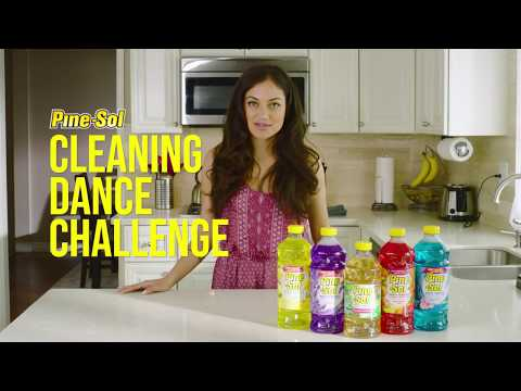 Inanna Sarkis and Pine-Sol CLEANING DANCE CHALLENGE