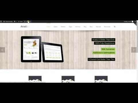 Page Layouts using Wordpress Avada Theme
