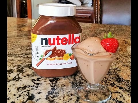 💖 Nutella Ice Cream ( NO MACHINE ) Easy recipe by Mommy Is A Chef Episode 74