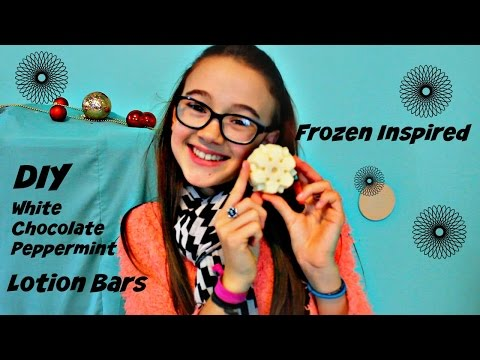 Easy DIY Lotion Bars | Frozen Inspired Snowflake | Make it Fancy | Fiona Frills