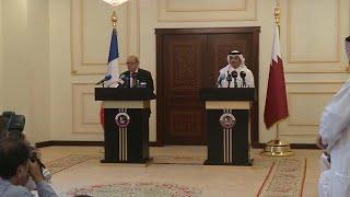 France wants an end to Qatar crisis