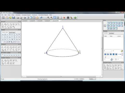 How to Create 3D Objects in Math Illustrations- Cones