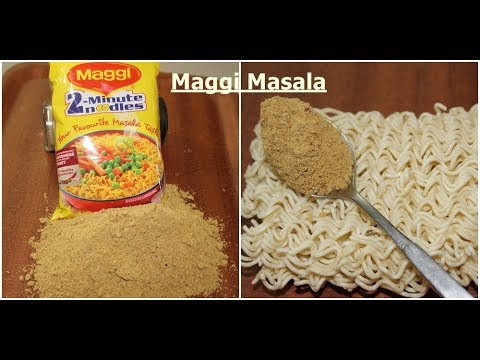 Make Maggi Masala at home | Very Easy | Secret Recipe | Almost same Taste