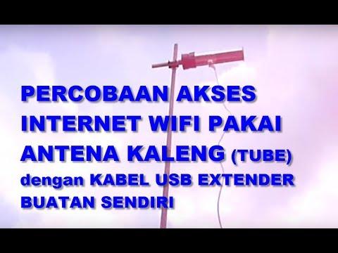 PVC antenna plus USB Wifi extender cable by Arif Johar Taufiq