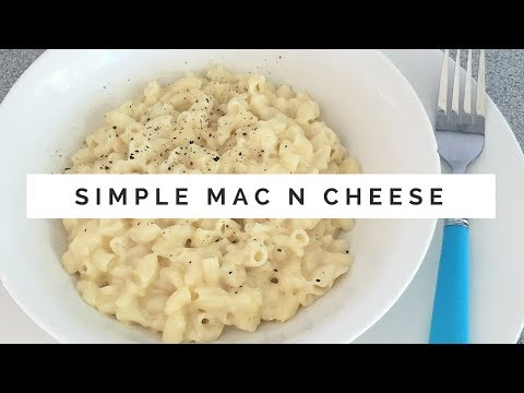 How to make Mac and Cheese - Simple Kitchen