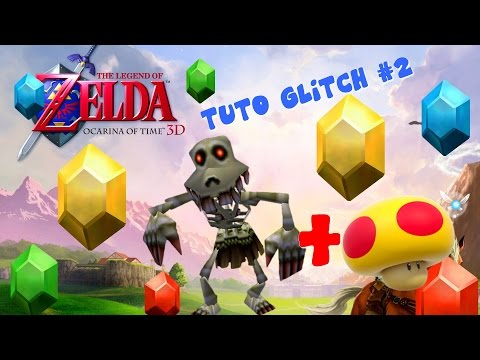 Zelda OOT 3D - Tutoriel Glitch + SAKDOSS IMMENSE #HD-FR