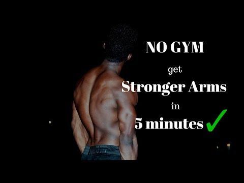 5 MIN HOME ARMS WORKOUT   NO GYM (Follow Al
