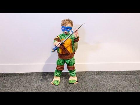 Winston Flips into a Ninja Turtle!