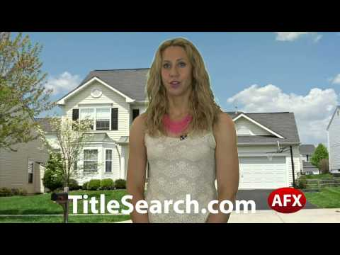 Property title records in Somerset County Maryland | AFX
