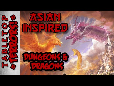 Asian-Inspired D&D - Samurai, Ninja and Ronin in Your Campaign Setting