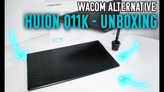 Luna unboxes Huion Inspiroy Q11K - The Most Popular High