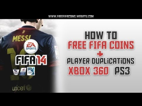 How to Get Free Coins and Player Duplications for FIFA 14 | Xbox 360 & Playstation 3