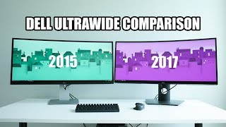 Dell U3415W vs U3417W Ultrawide Monitor Comparison - Best Productivity Ultrawide?