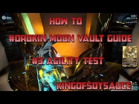 How to: Warframe Secret Orokin Moon Vault #3 The Agility Test for Agility Drift