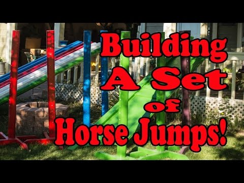 How to Save Money by Making Your Own Horse Jumps