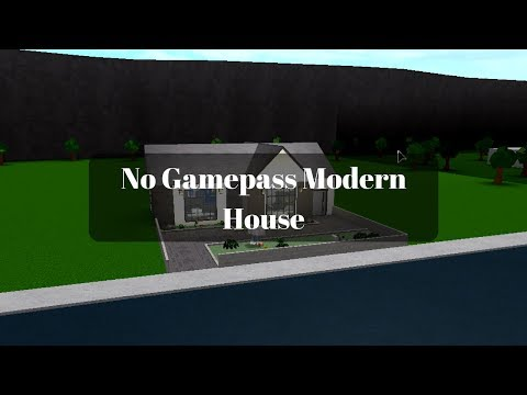 Roblox | Bloxburg: No Gamepass Modern House (33k)