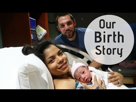 Our labor and delivery story I Birth story + hospital footage ♡